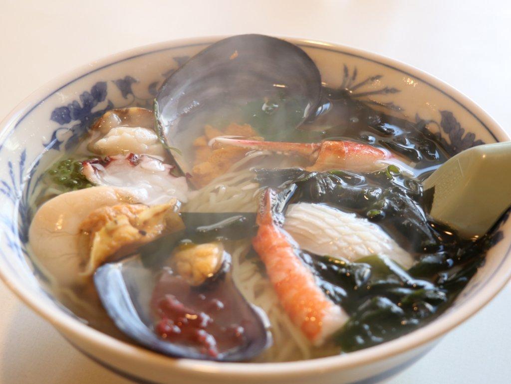 海鮮ラーメン(磯ラーメン) お食事処 十府ヶ浦