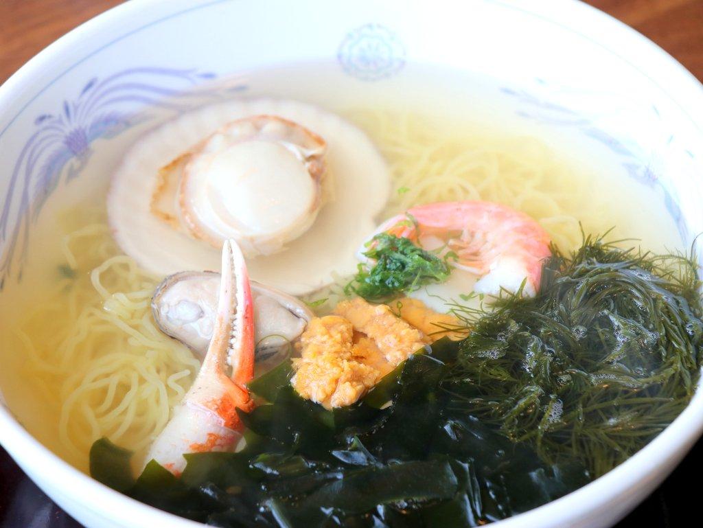 海鮮ラーメン(磯ラーメン) 海鮮ラーメン/磯ラーメン(レストランぱあぷる)