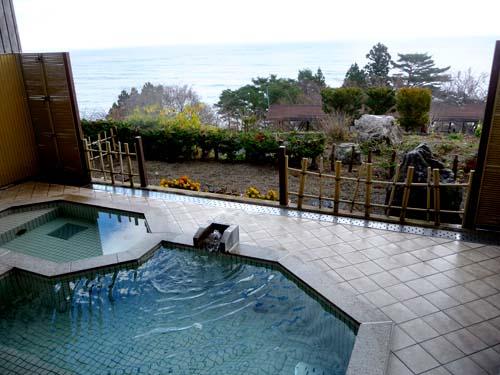 国民宿舎えぼし荘 太平洋が見渡せる露天風呂