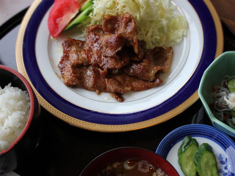 レストランぱあぷる(道の駅) 南部福来豚 焼肉定食