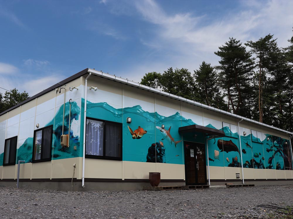 木彫りの魚美術館 魚の番屋 外観