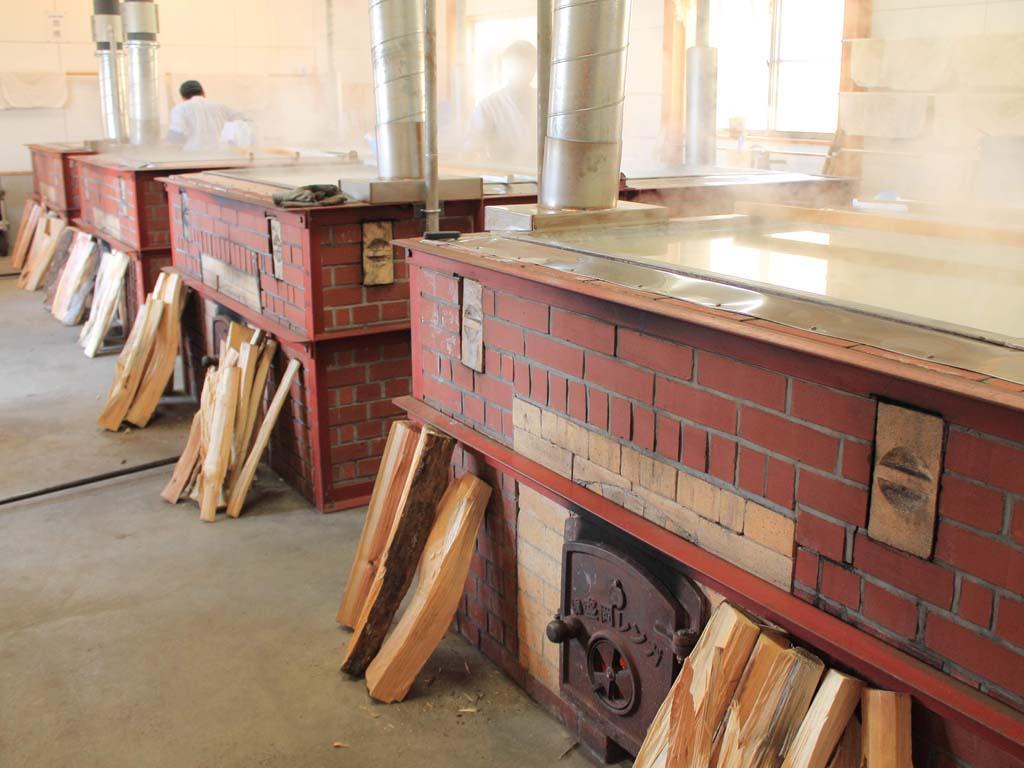 のだ塩工房 のだ塩は薪窯直煮製法です