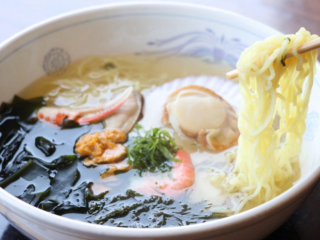 レストランぱあぷる(道の駅) ぱぁぷるラーメン