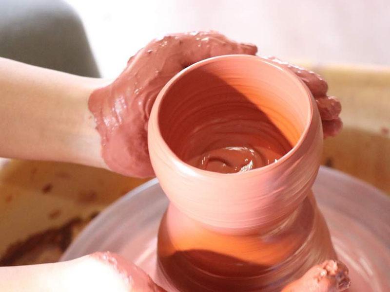 のだ焼 陶芸体験 写真