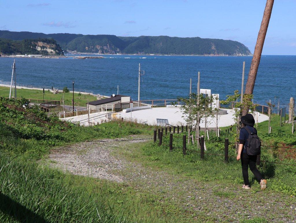 みちのく潮風トレイル みちのく潮風トレイル 野田村区間 十府ヶ浦