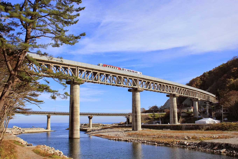 三陸鉄道安家川橋梁(岩手県野田村)