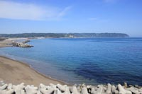 コバルトブルーの海岸線(野田村)