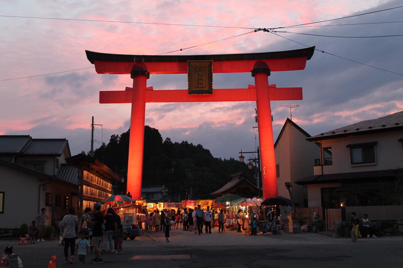 愛宕神社例大祭(岩手県野田村)