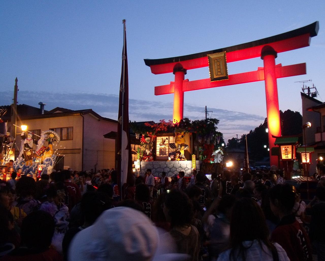 愛宕神社例大祭 野田観光まつり(岩手県野田村)